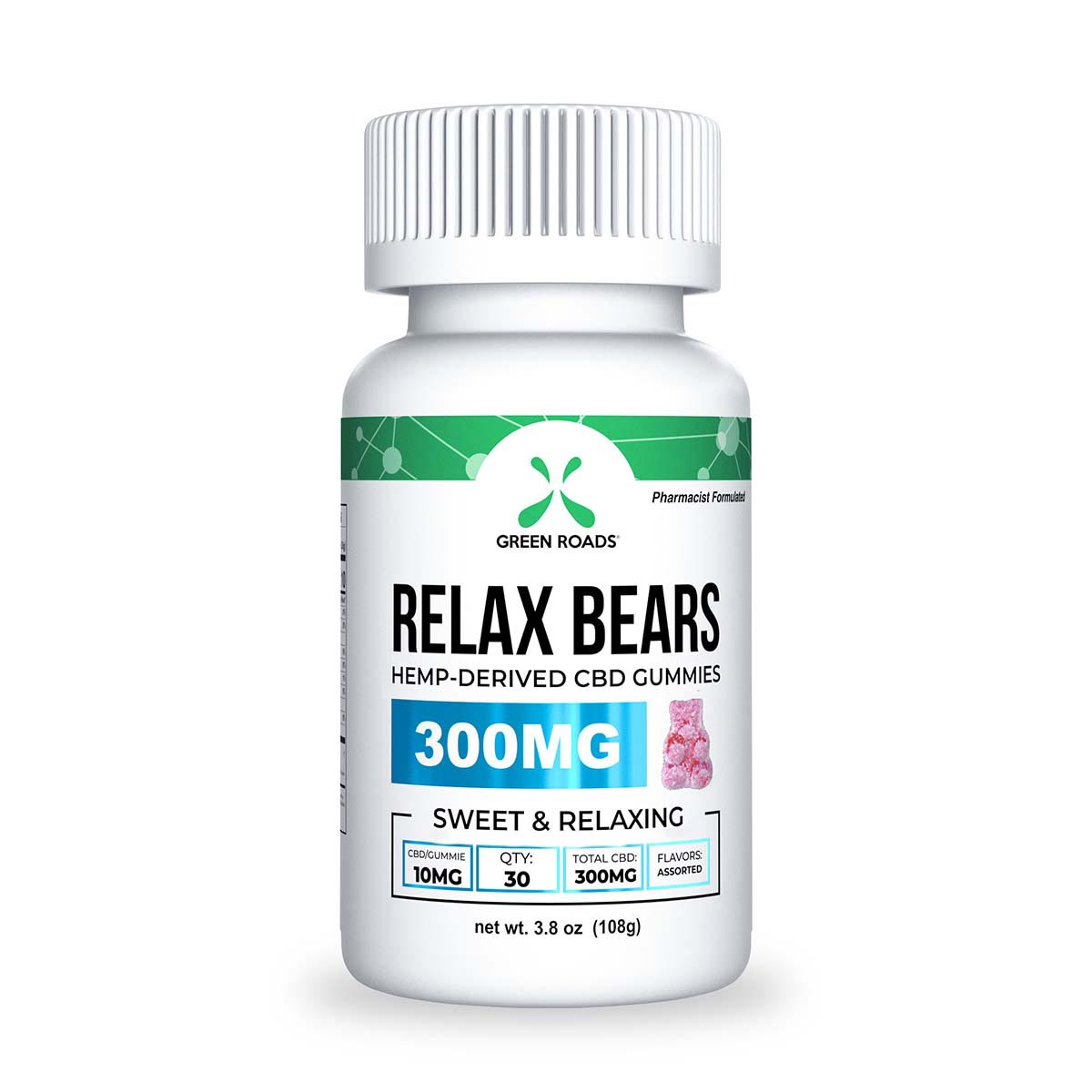Relax Bears - CBD Gummy Bears - 300 mg