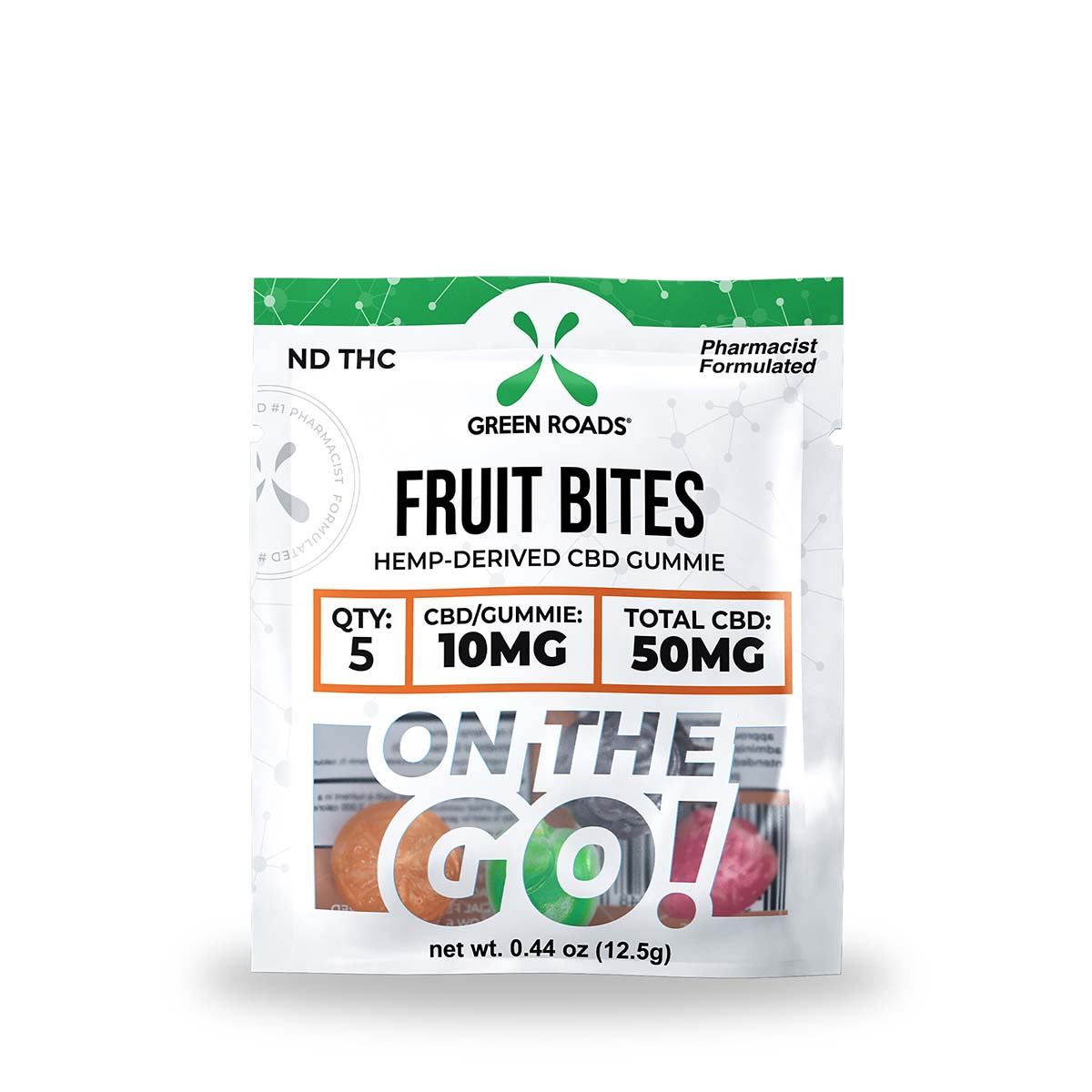 CBD Fruit Bites – 50 mg