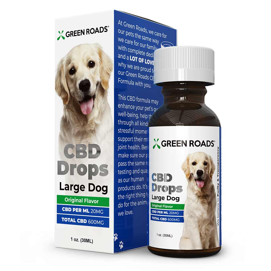 CBD Drops - Large Dog Formula