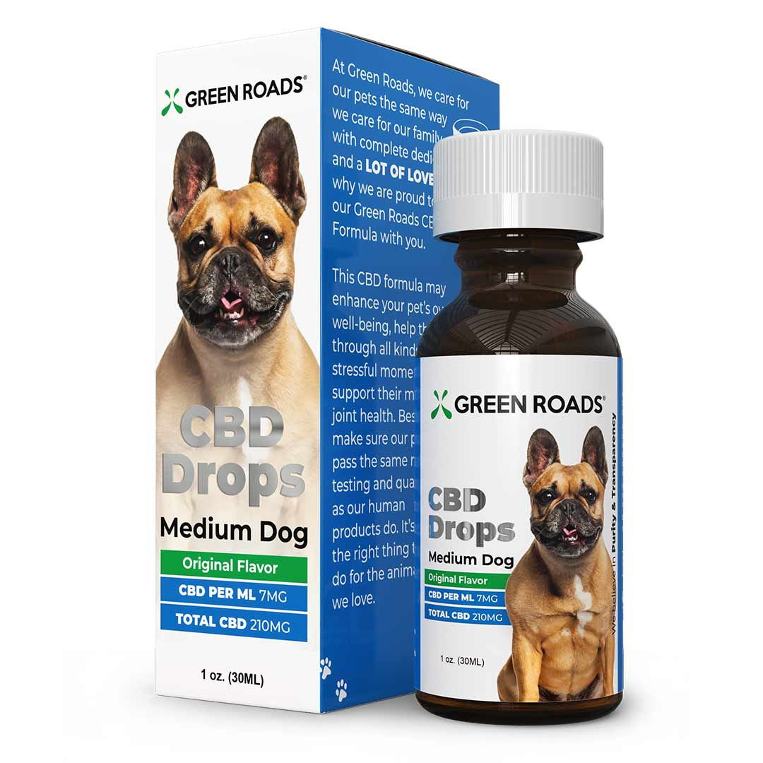 CBD Drops - Medium Dog Formula