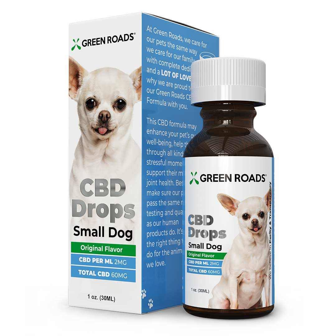 CBD Drops - Small Dog Formula